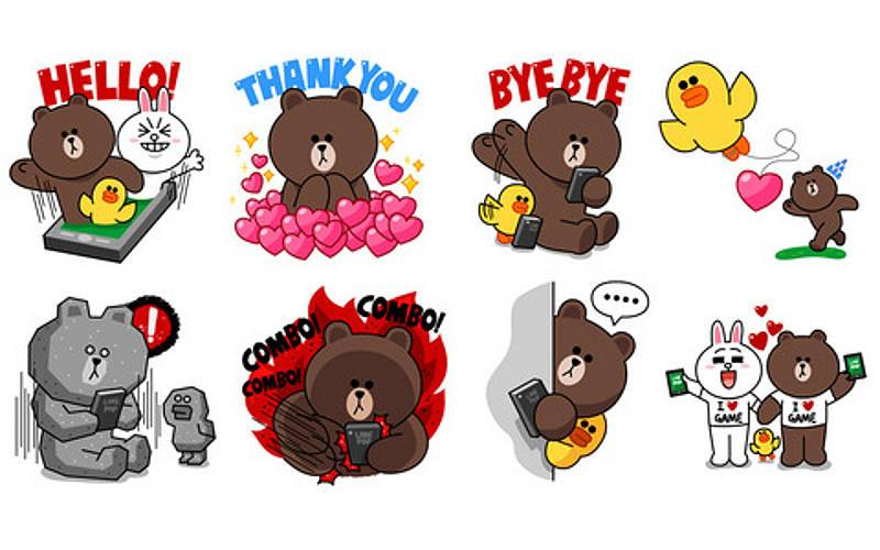 Naver LINE Stickers Hack For Android