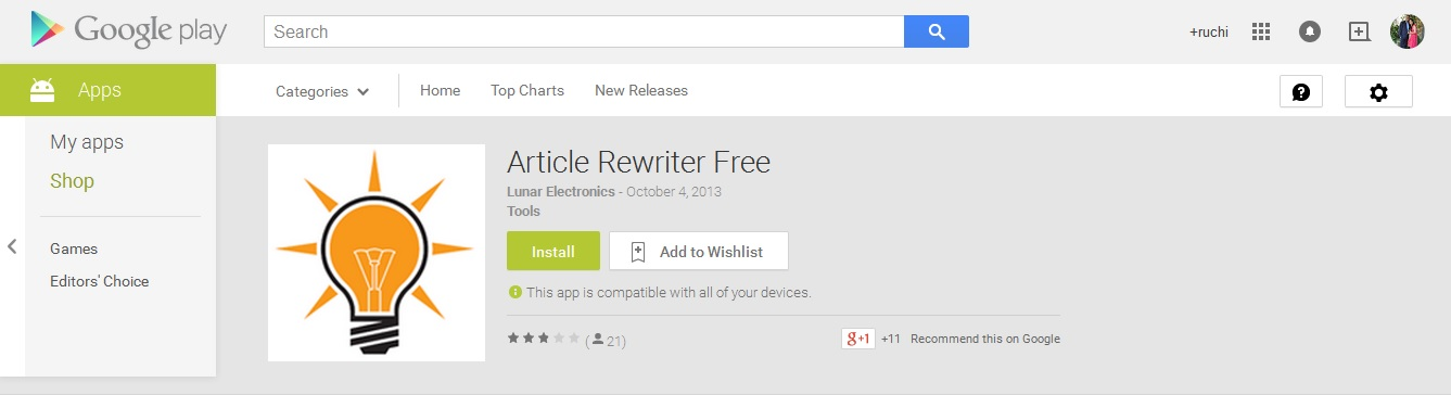 Article Rewriter Free