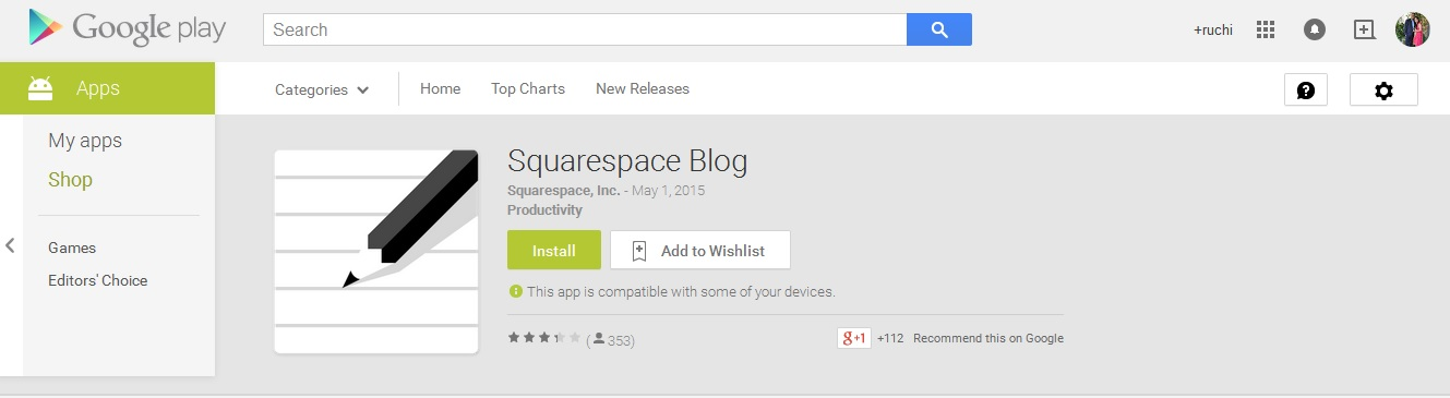 10 best android blogging apps every blogger must have for Best squarespace template for blog