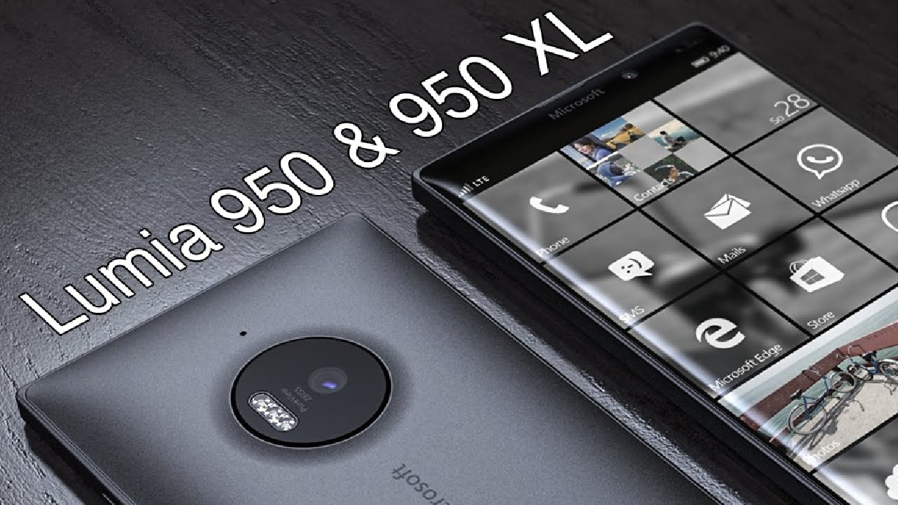 Exquisite New Features of Microsoft Lumia 950 and 950-XL