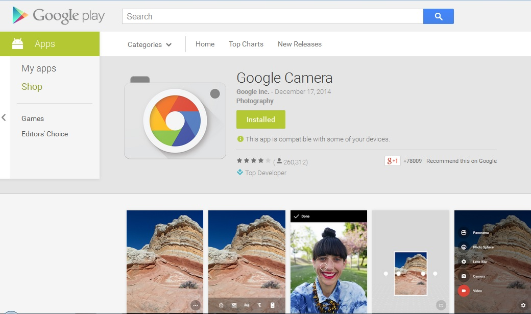 Google Camera 2015