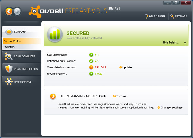 panda free antivirus vs avast free antivirus