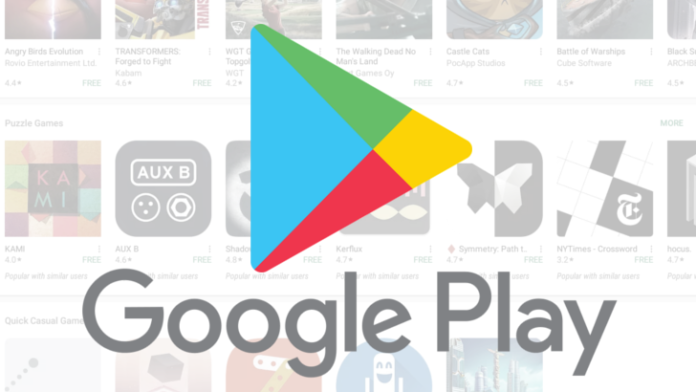 Google Play Stores 2018 Popular Applications