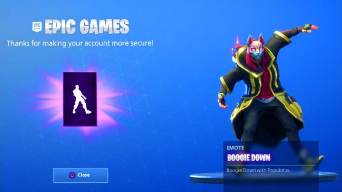 Add Two-Factor Authentication to Epic Games Account for Fortnite