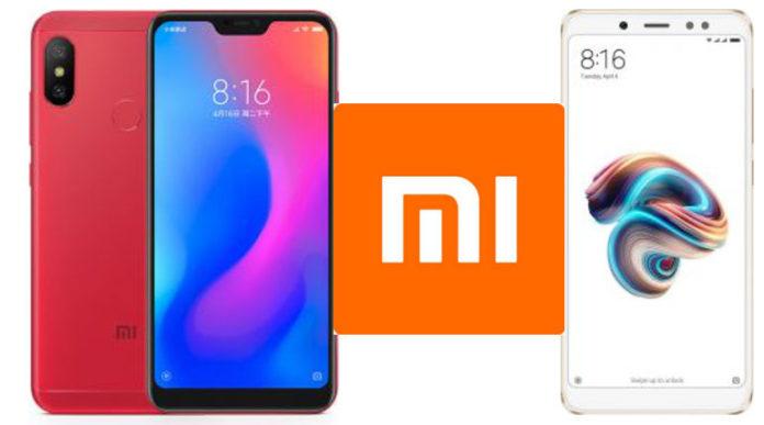 Redmi Note 5 Pro and Redmi Note 6