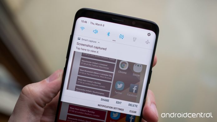 Steps to Take Screenshot on Samsung Galaxy S9