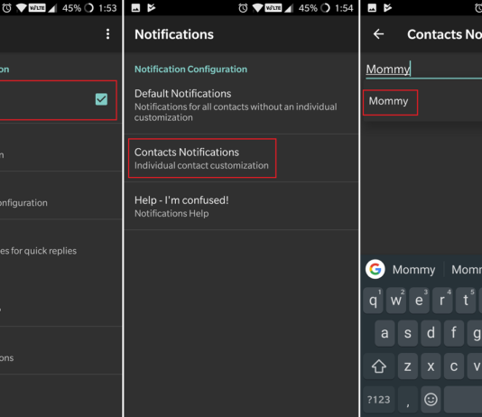Steps to Set Custom Text Tones for Contacts on Android
