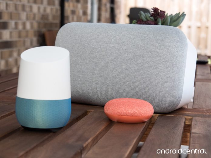 steps to set up google home and other google assistant speakers