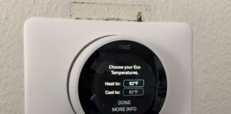 Steps to Change Eco Temperatures on  Nest Thermostat