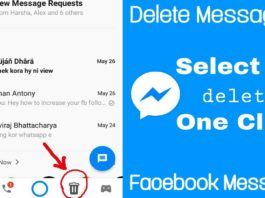 Steps to Delete Message Sent by Mistake in Facebook Messenger