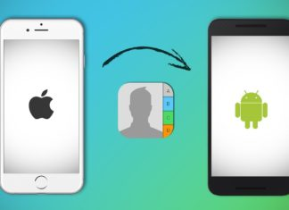 Steps to Transfer Contacts from iPhone to Android