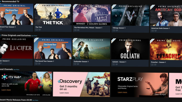 Best Series on Amazon Prime Videos